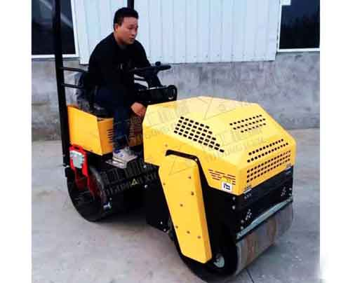 Driving Seating Road Roller with Double Drums