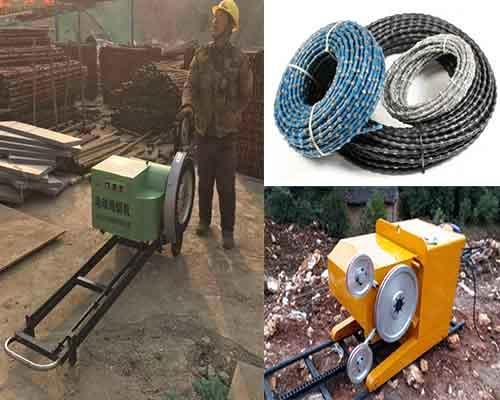 Electric Diamond Wire Saw Machine