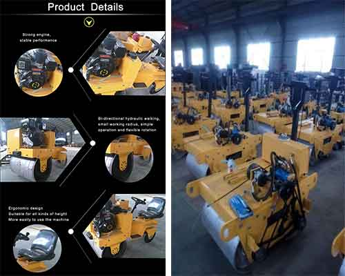 Mini Road Roller Manufacturer