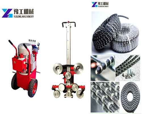 Buy Diamond Wire Saw Machine in Yugong Machinery - Top