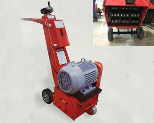 Floor Scarifier with Electric Power