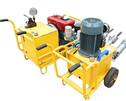 Hydraulic Rock Splitter Electric and Diesel Motor
