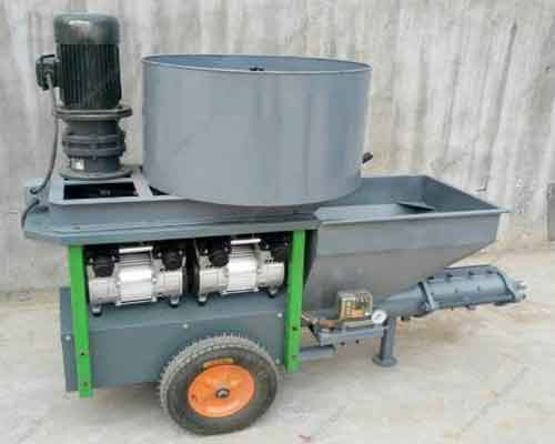 Mortar Mixer and Spray Machine for Sale
