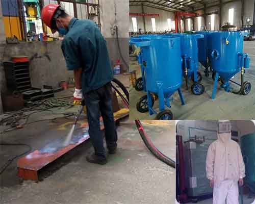 Sand Blasting Machine Uses and Protective Clothing