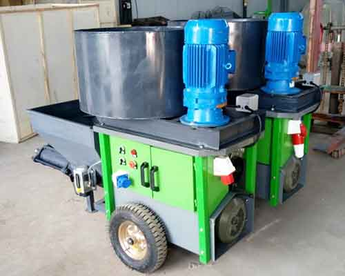 Hot Sale Yugong Mortar Mixing and Spraying Equipment