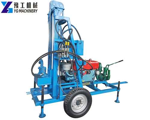 New Type Small Water Well Drilling Rigs for Sale