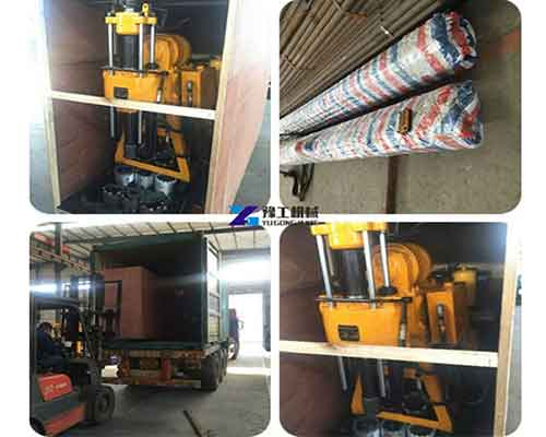The Package of HZ Hydraulic Water Well Drilling Rig