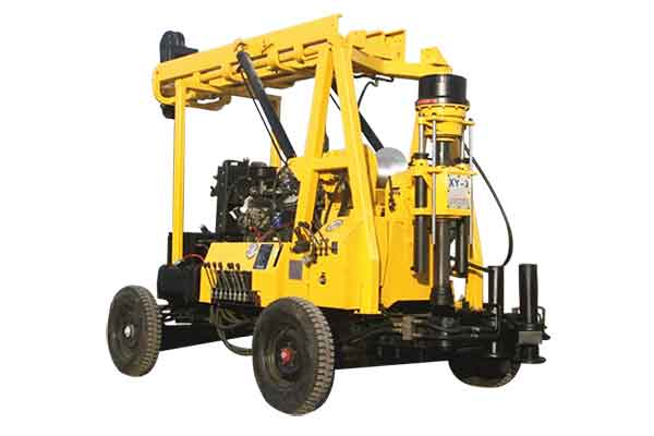 Trailer Mounted Water Well Drilling Rigs for Sale on Yugong