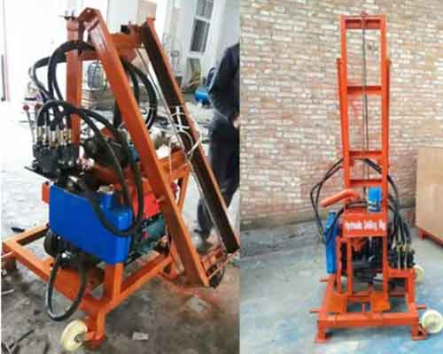 Hydraulic Water Well-Drill with Diesel Engine for Sale
