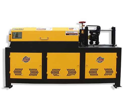 Automatic Electric Rebar Straightening and Cutting Machine