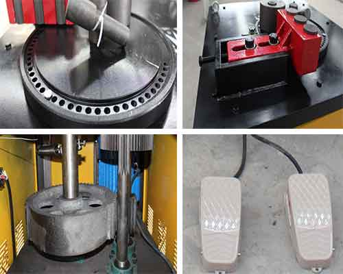 Components of Steel Bar Bending Machine