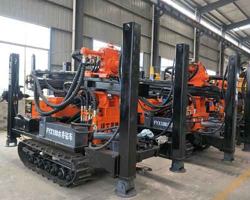 Crawler Mounted Water Well Drilling Rigs for Sale - Yugong