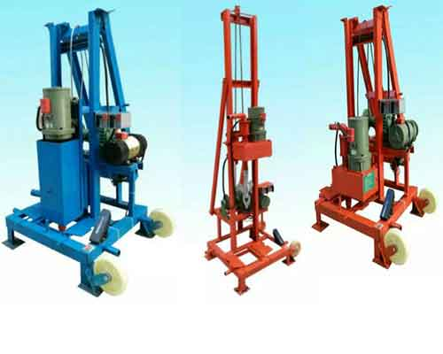 Two Phase Small Fold Water Well Drilling Rig