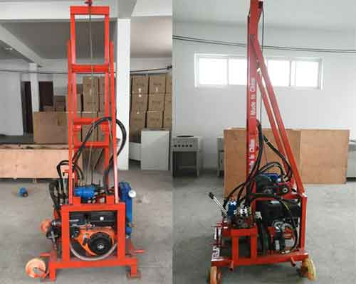 Electric Hydraulic Water Well Drilling Machine