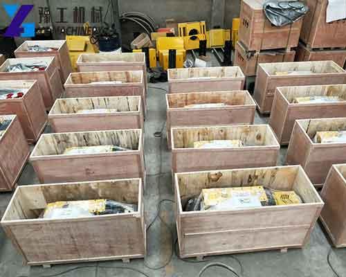 Package of Rebar Cutting Machine in YG