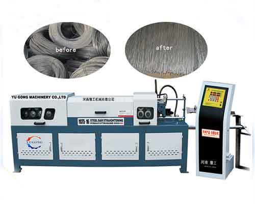 Steel Wire Straightening Cutting Machine