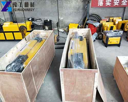 Wire Straightening Cutting Machine Packing and Loading Pictures