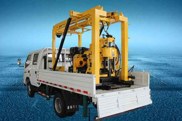 XYC-200GT Truck Mounted Well Drilling Machine
