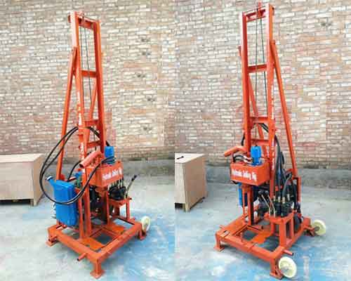 Diesel Hydraulic Water Drilling Machine
