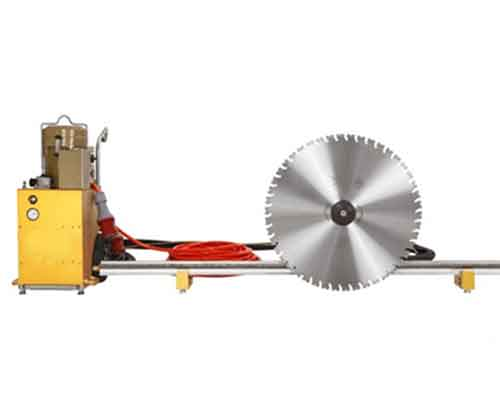Electric Concrete Wall Saw