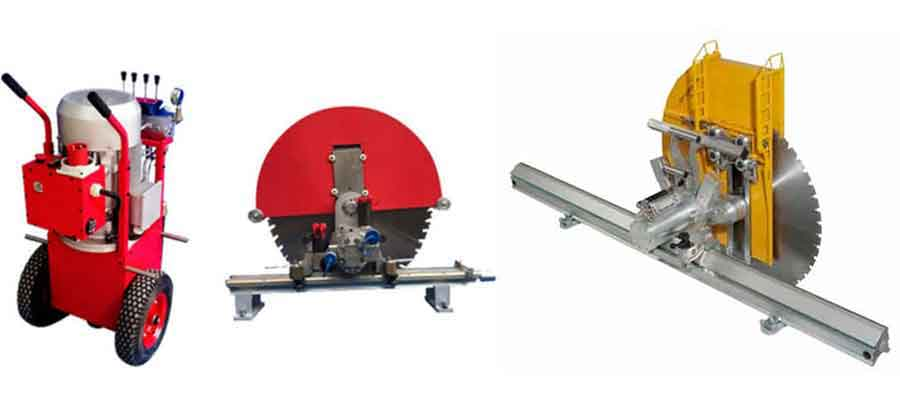 Wall Cutting Saw Machine