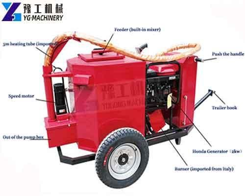 Crack Sealing Machine Manufacturer