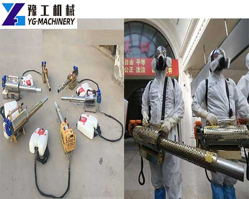Application of Knapsack Sprayer