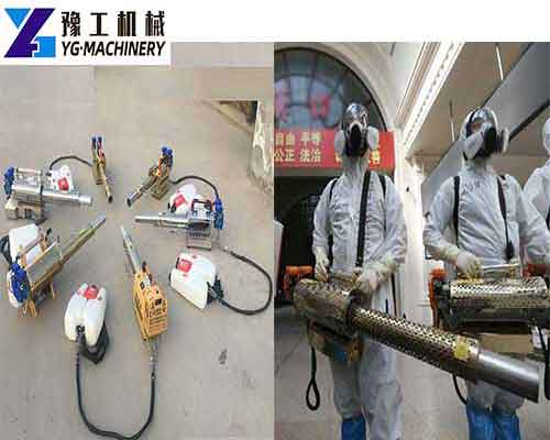 Application of Fogging Sprayer Machine