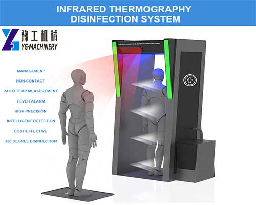 Infrared Thermography Disinfection System