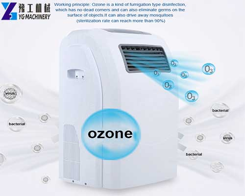 Ozone Steaming Disinfection