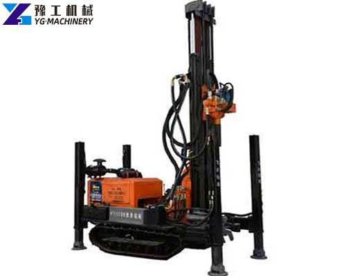 Crawler Mounted Water Well Drilling Rigs