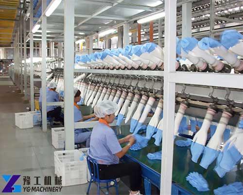 Nitrile Glove Making Machine