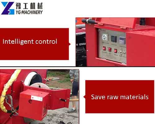 Portable Asphalt RecyclingMachine Feature