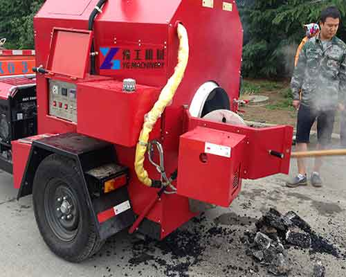 Small Asphalt Recycling Machine Construction Drawing