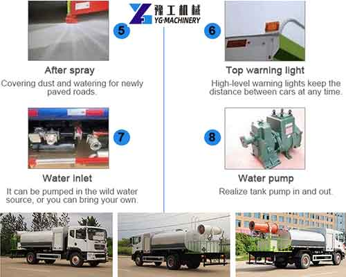 Dust Control Water Truck Introduction