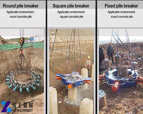 Hydraulic Pile Breaker Machine for Sale