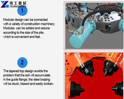 Hydraulic Pile Cutter Machine Feature