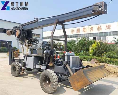 Hydraulic Rotary Drilling Rig