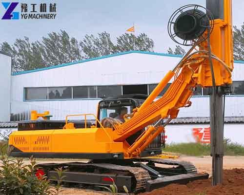 Lock Rod Rotary Drilling Machine