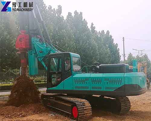 Lock Rod Rotary Drilling Rig