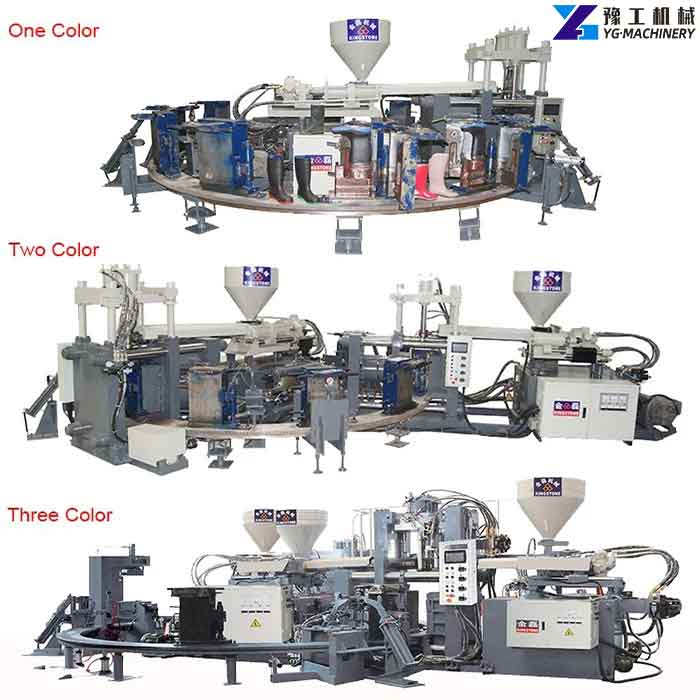PVC Shoe Making Machine
