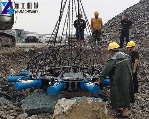 Pile Breaker Construction