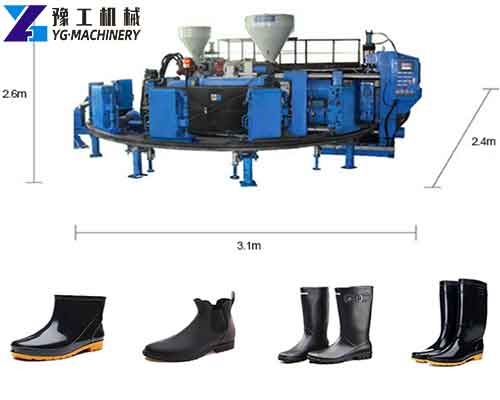 Rain Boots Making Machine