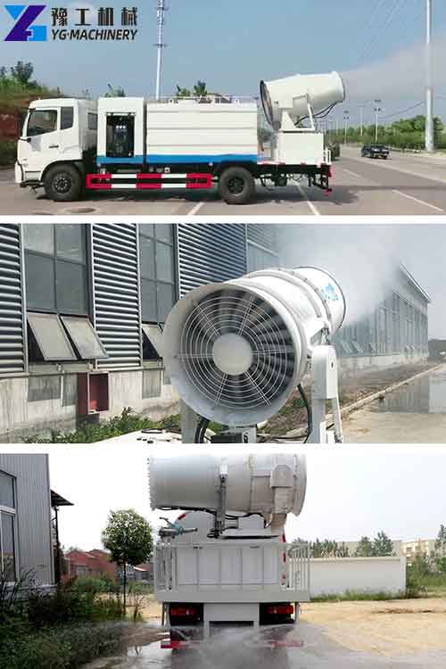 Use of Dust Control Water Truck