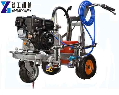 YG-8D Cold Paint Road Marking Machine with Double-gun