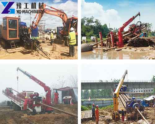 YG Horizontal Drilling Machine Construction Site