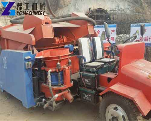 Concrete Shotcrete Sprayer