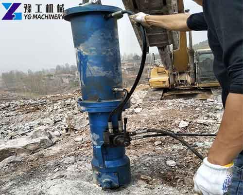 Rock Splitter for Excavator