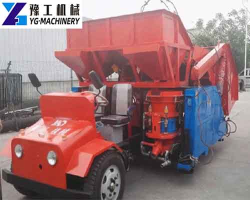 Trailer Shotcrete Sprayer