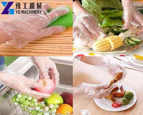 Usage of PE Gloves